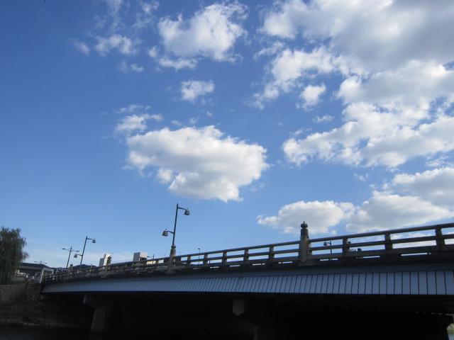 橋の下から五条大橋