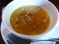御本陣ランチ 本日のスープ