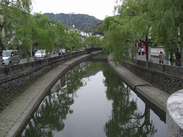 地蔵湯橋からの風景