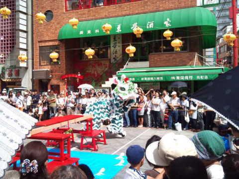 南京町の中秋節 2011年