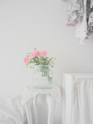 バラのある部屋