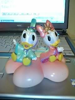 ドナルド&デイジー 雛人形