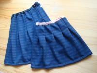 簡単スカート