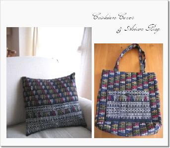 2008-10 cushion cover and asian bag
