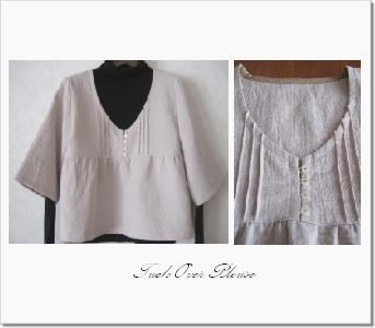 2008-10 tuck blouse