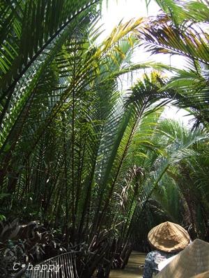 椰子のトンネル