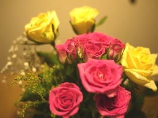 結婚記念日 バラ110727