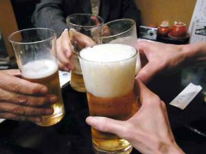 11-10-11 ビア乾杯