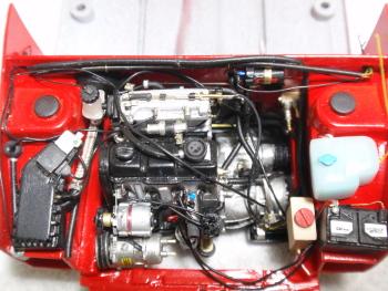 エンジン搭載3
