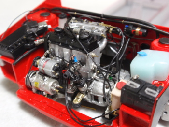 エンジン搭載2