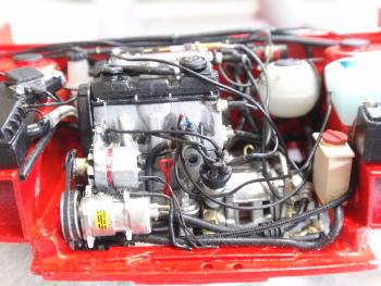 エンジン搭載9