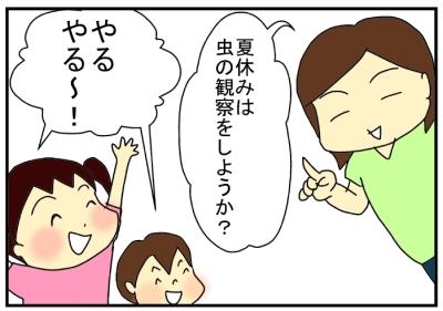夏休みの理科研究1