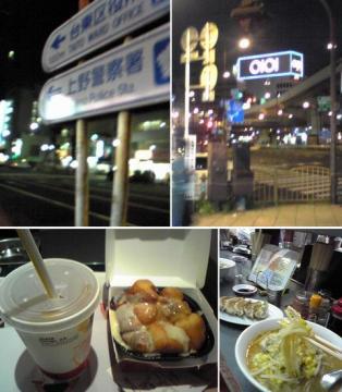 上野の街は夜の顔の移り変わりが早い