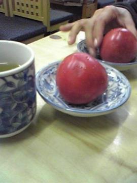 もぎたてのトマトなんて何年ぶりだろう大感激!!!