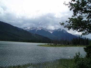 banff湖
