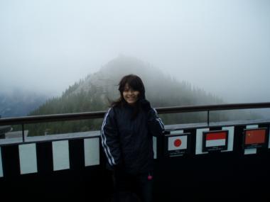 サルファー山頂上