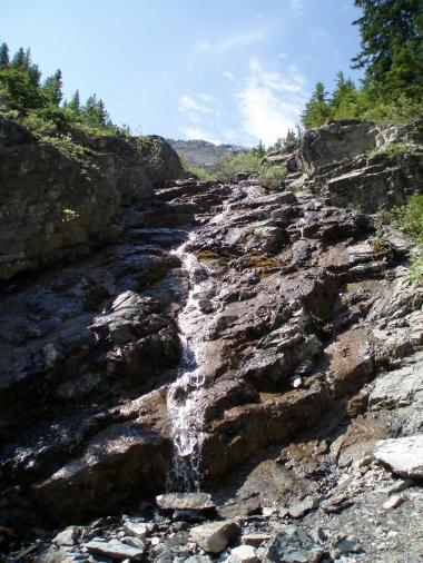バンフの滝