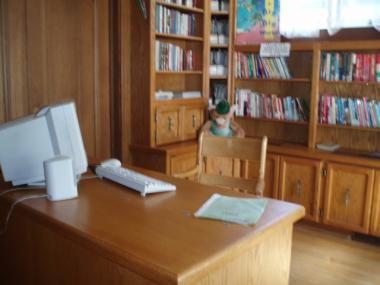 レジャイナの図書室