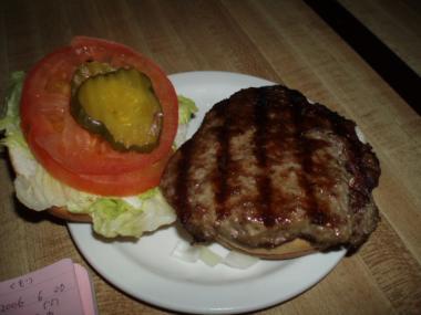 スーセントマリーのハンバーガー