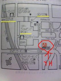 オタワYHまでの地図2