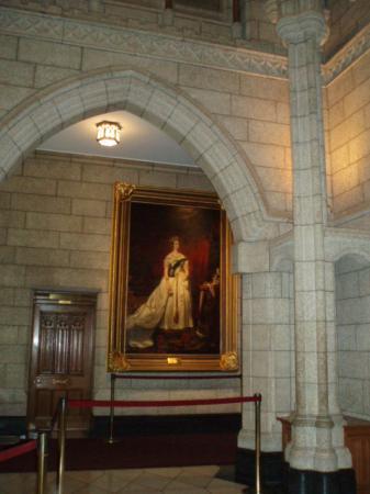 オタワの国会議事堂ツアー4