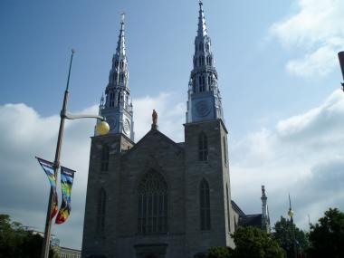 オタワのノートルダム大聖堂