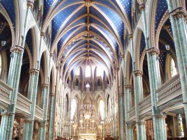 オタワのノートルダム大聖堂2