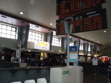 モントリオールのセントラル駅