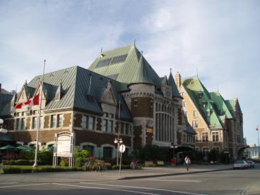ケベックシティの駅