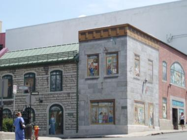 ケベックシティの壁3
