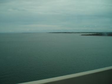 PEI橋からの景色