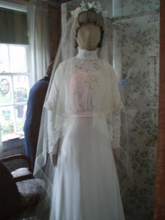 モンゴメリさんが着たウェディングドレス