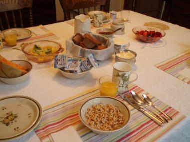 PEIの朝食3日目