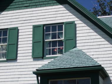アンの部屋の窓