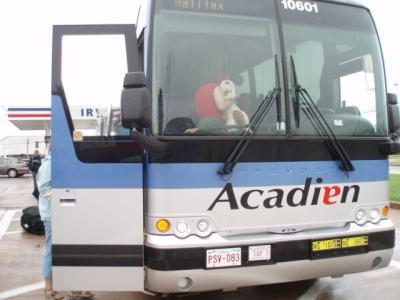 アカディアンラインズのバス