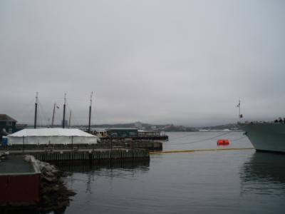 ハリファックスの港