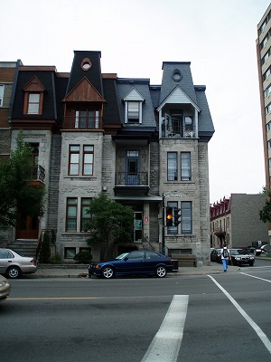 モントリオールのYH外観