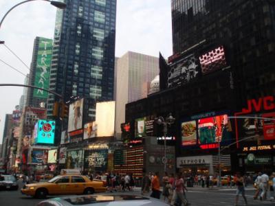 NY一日目 マンハッタン2