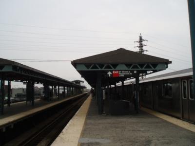 NYのwoodside-61 st駅