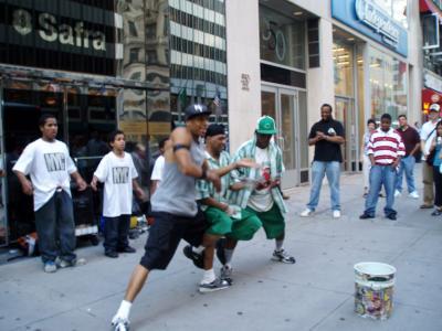 NYのストリートダンサー
