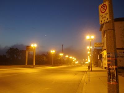 ナイアガラバスデポ付近