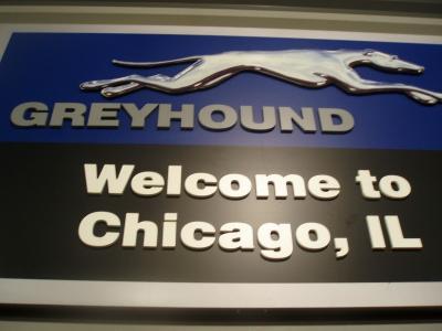 シカゴ到着