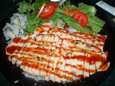 ハリウッドの日本食レストラン