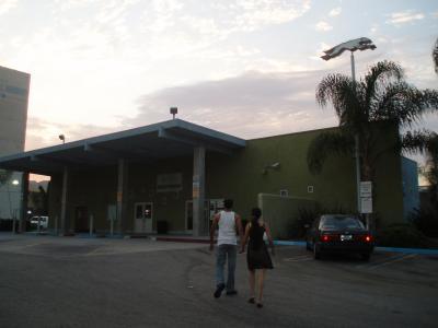 LA4日目ハリウッドのバスデポ