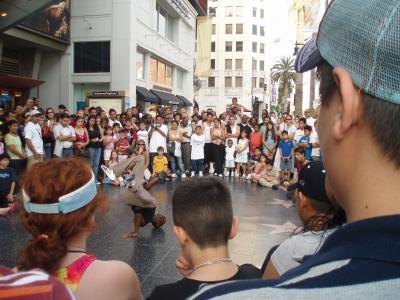 LAのストリートダンサー