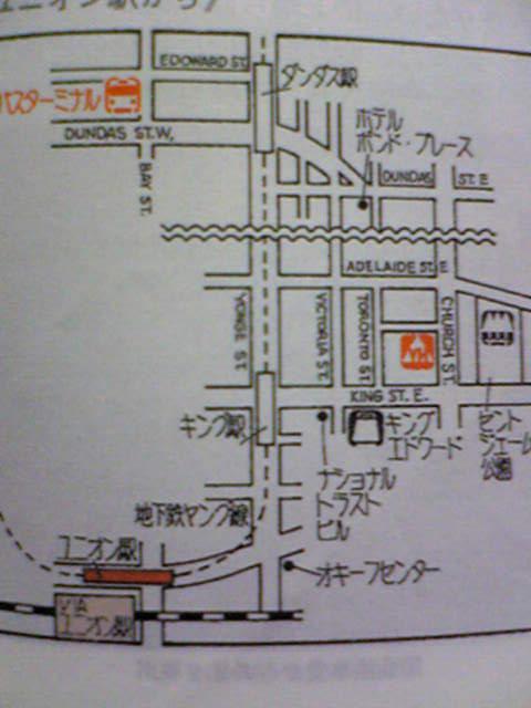 トロントYHmap