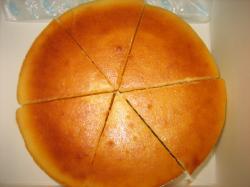 手作りチーズケーキ(*^_^*) おいしかったです(^^)V