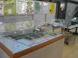 緑が丘ウッドタウンの模型