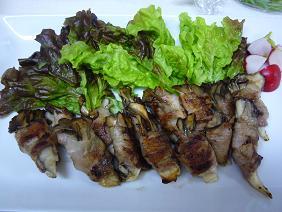 舞茸の豚肉まき
