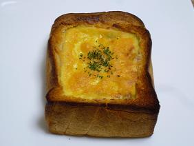 パンでグラタン